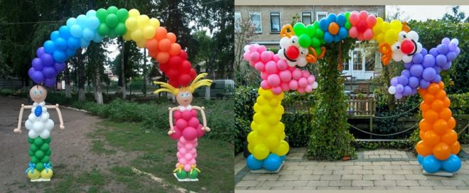 Как сделать арку из воздушных шариков своими руками