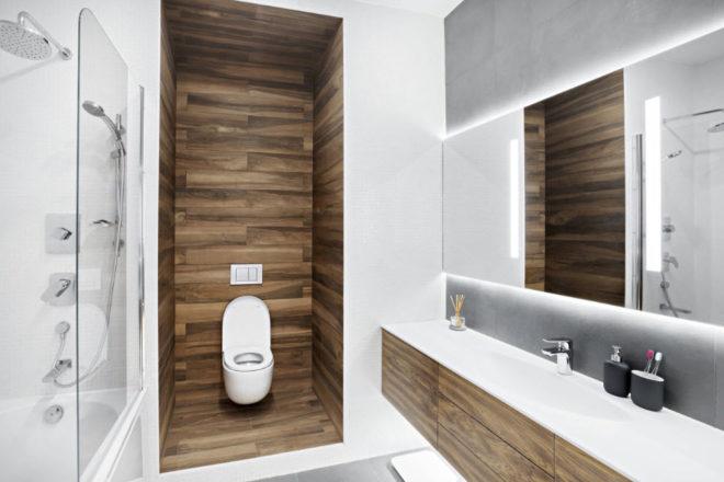 Модная плитка для ванной - тренды 2019 и 2020