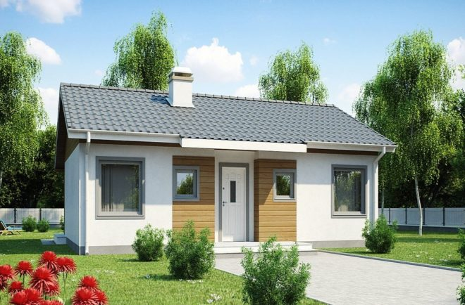 Проекты одноэтажных домов 6х8 с отличной планировкой - Дача