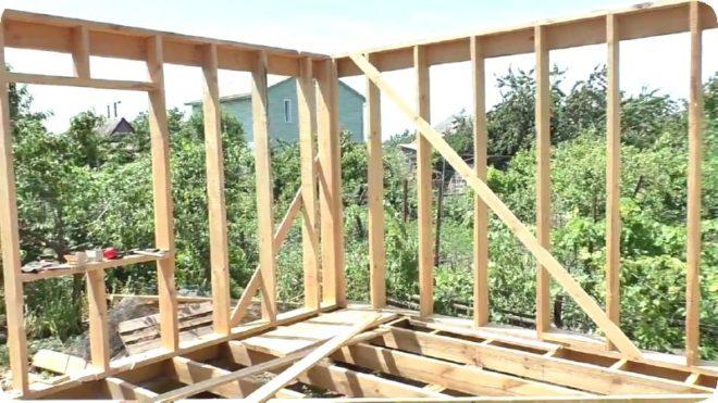 Строим бюджетную баню на даче - быстро и недорого своими руками