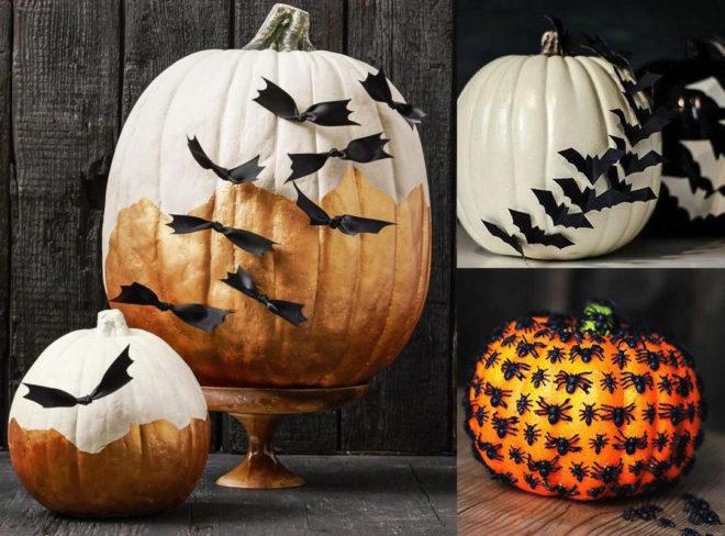 Красим тыкву на Хэллоуин дома