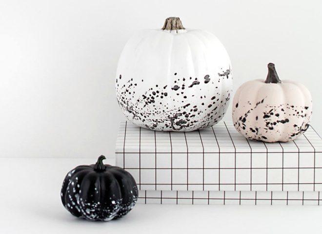 Красим тыкву на Хэллоуин дома - Дача