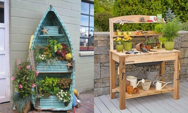 Самые креативные идеи для украшения сада и огорода — не как у всех