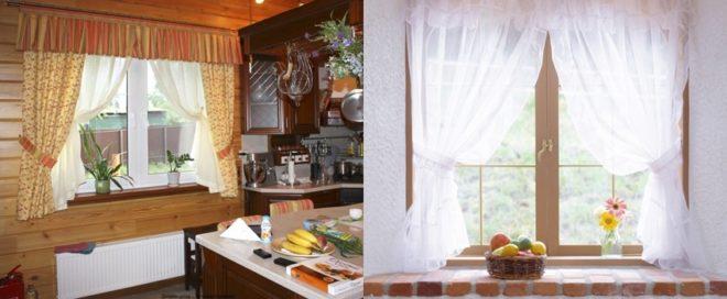 Модные шторы для кухни - новое направление 2019-2020
