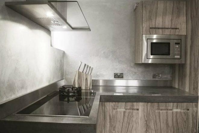 это фото фактурной штукатурки для кухни задача