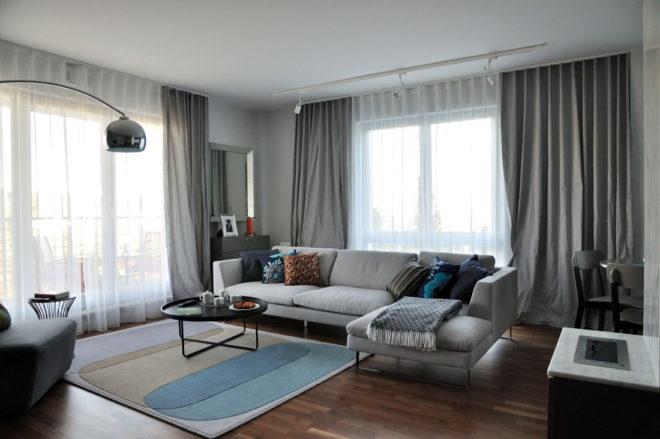 Дизайн штор в зал - новое направление 2020