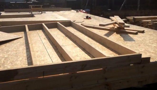 Как быстро и недорого построить каркасный дом - фото этапов строительства