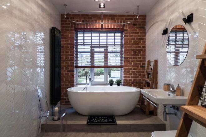 Интерьеры ванных комнат в современном стиле - новинки и тренды 2020