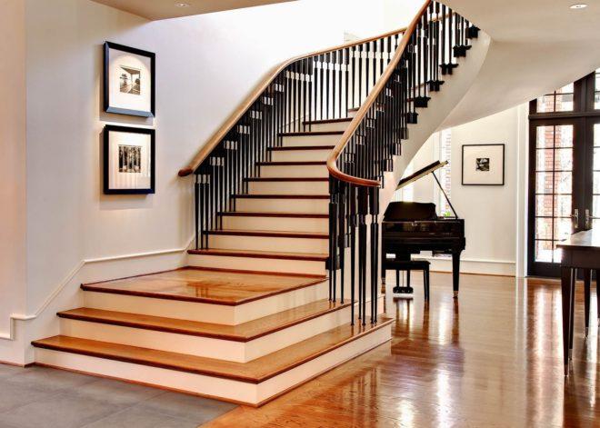 Виды лестниц для дома фото