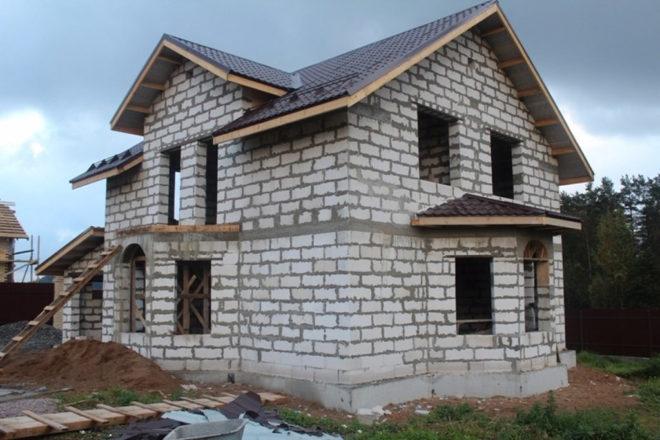 Дома из газобетона до 150 кв м — современные проекты