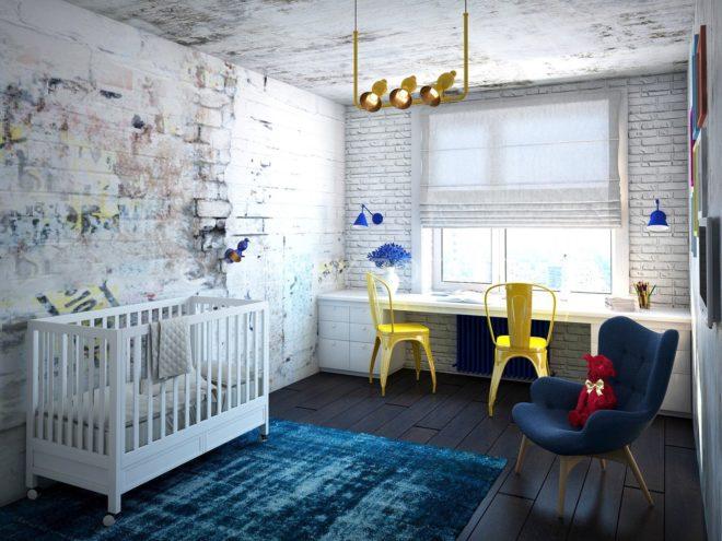 Дизайн детской в 2020 году - что нового?