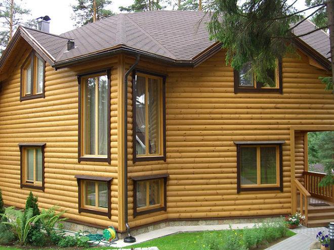 Обшивка дома снаружи - чем дешевле