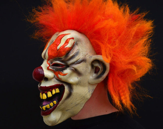 Карнавальная маска из папье-маше своими руками