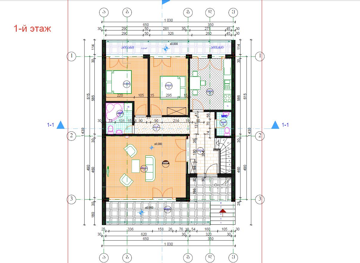 Дома из газобетона до 150 кв м - современные проекты
