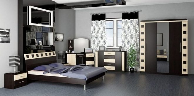 Модульные спальни - модные новинки 2020