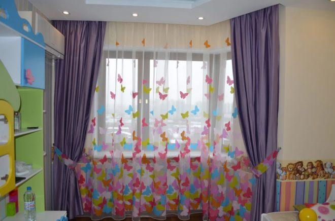 Модные шторы в детскую - тренды 2020