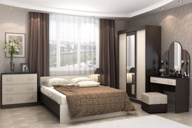 Модульные спальни — модные новинки 2020