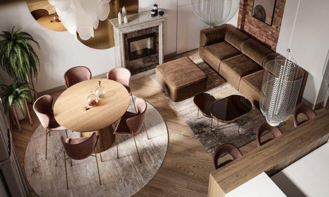 Новая гостиная - самые модные проекты 2020