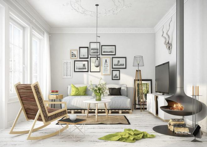 Новая гостиная ? самые модные проекты 2020