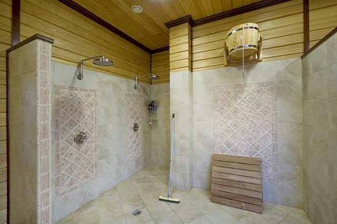 Внутренняя отделка бани - фото и этапы работ