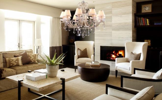 Модная гостиная - просто и со вкусом