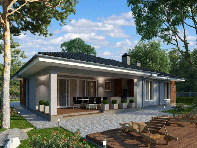 фото и проекты одноэтажных домов