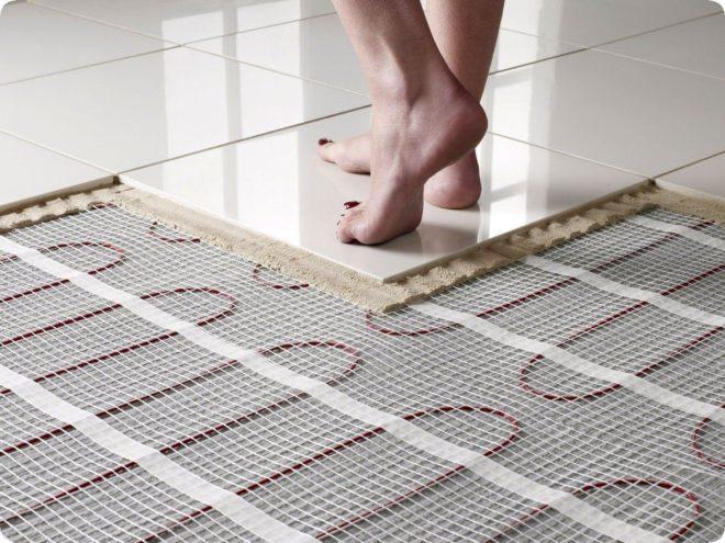 Теплый пол под плитку электрический - какой лучше