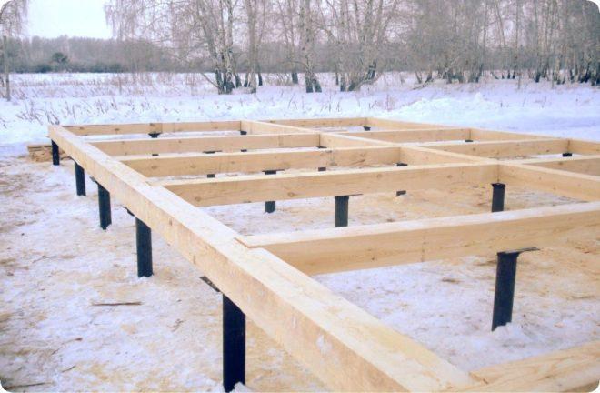 Зимняя стройка - проблемы и решения