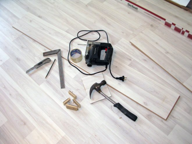 Как положить ламинат одним полотном - с чего начать