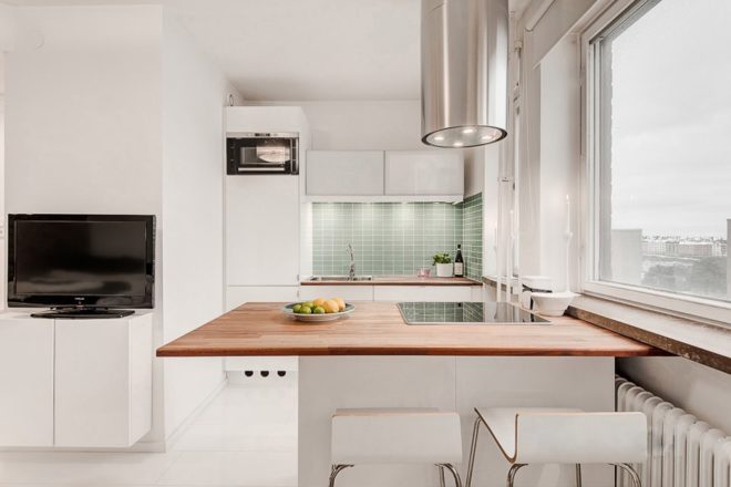 Как сделать ремонт квартиры-студии 25 кв. м в современном стиле