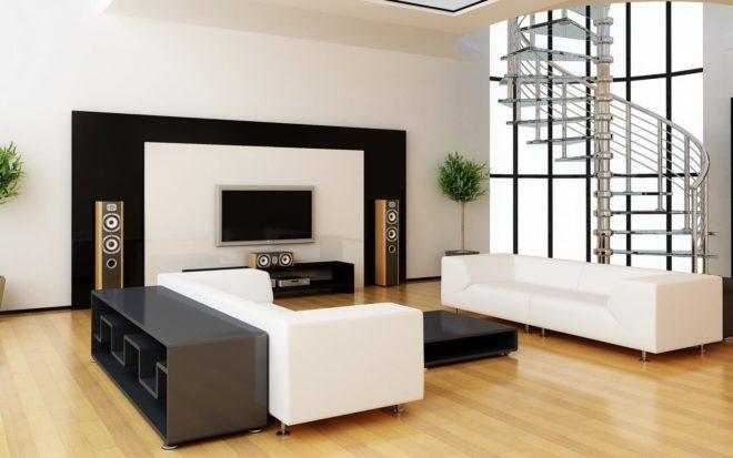 Обзор современной мебели в гостиную в стиле Минимализм - Дача