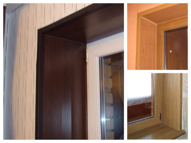 Отделка окна в деревянном доме - внутри и снаружи