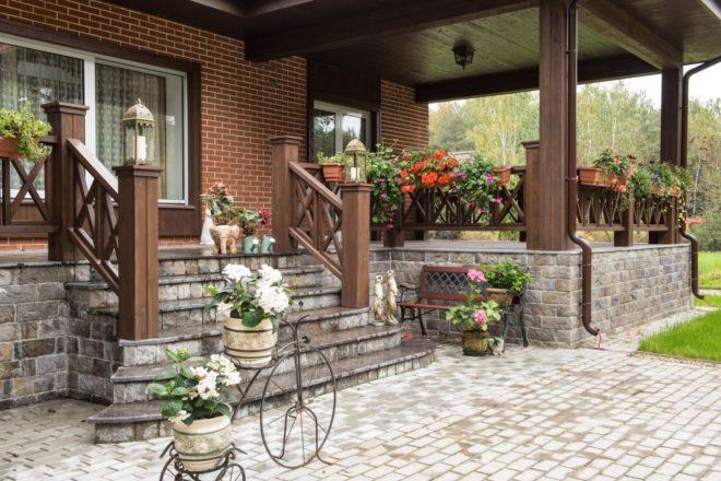 Как сделать крыльцо к частному дому