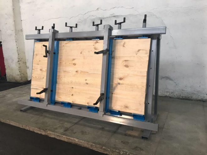Самодельные ваймы для склейки столярных щитов