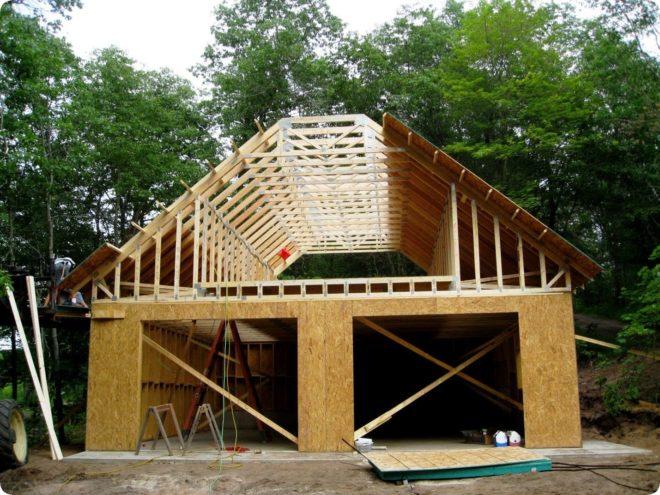 Как быстро и недорого построить гараж