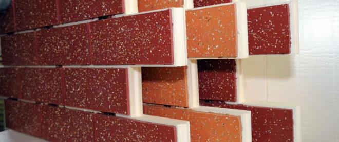 Разновидности фасадных панелей под кирпич