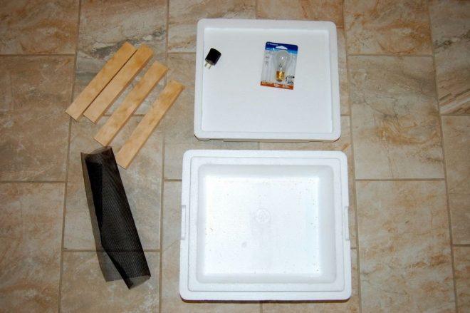 Самодельный инкубатор для яиц - инструкция