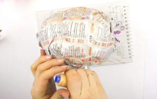 Как сделать топиарий из искусственных цветов