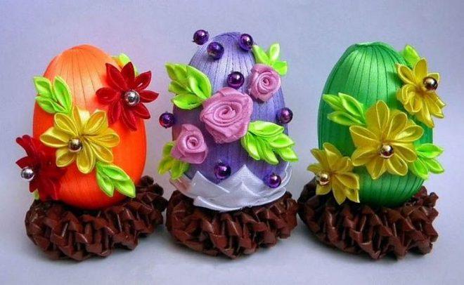 Идеи для пасхальных яиц своими руками