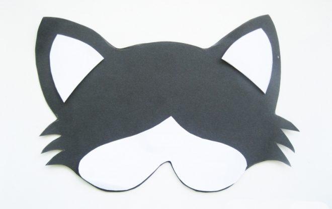 Как сделать маску животных для детей