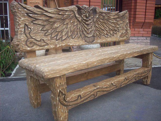 Делаем деревянную скамейку своими руками