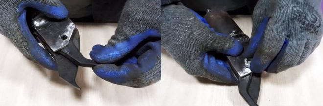 Как сделать насадку на дрель для резки металла