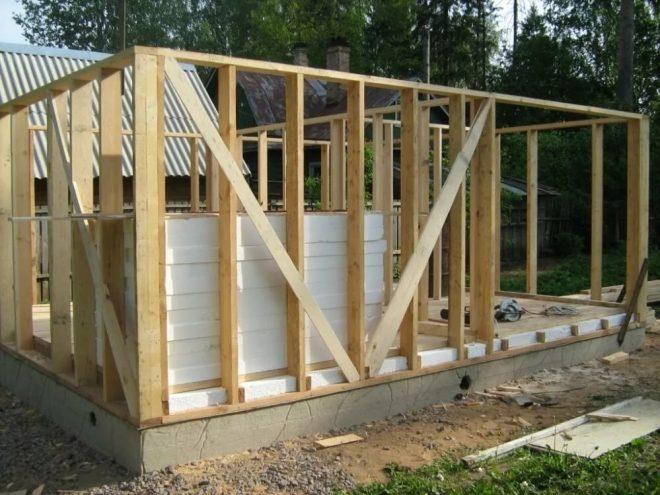 Дачный домик своими руками - дешево и быстро