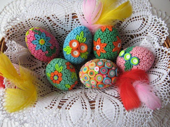 представляет собой идеи для украшения яиц на пасху фото удовольствием отдыхают