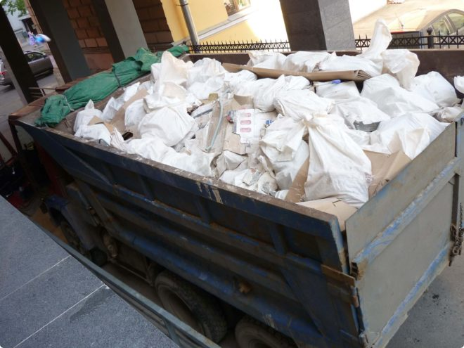 Как и куда вывозить строительный мусор