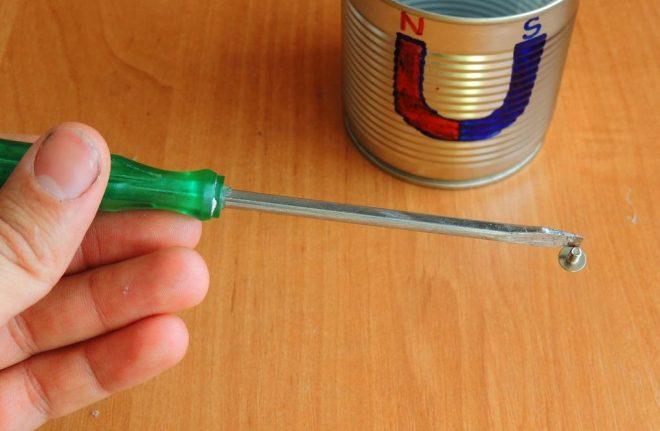 Намагничивание отверток без магнита — простой способ