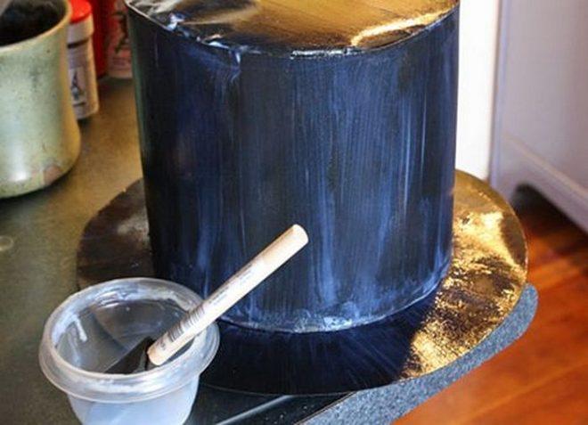 Как сделать шляпу-цилиндр из картона