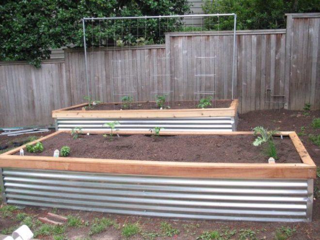 Делаем красивые грядки для огорода