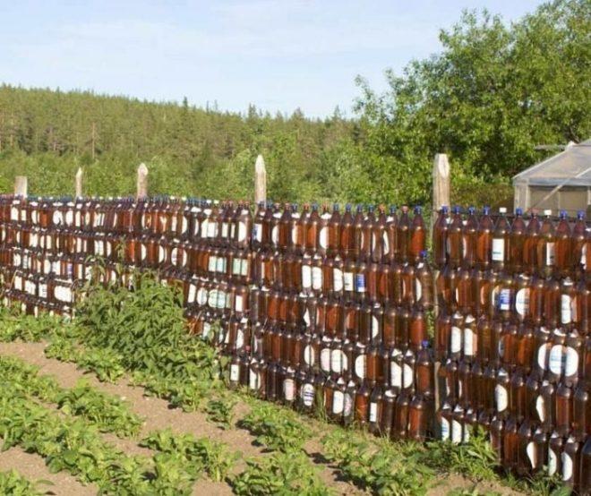 Строим недорогой забор для дачи