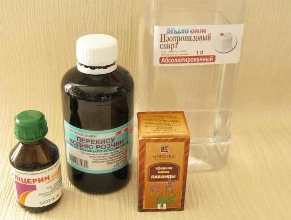 Делаем антисептик из спирта и глицерина